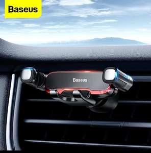 Baseus-Soporte Universal de teléfono móvil para coche, Metal, 4,7-6,5 pulgadas