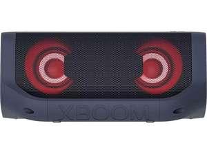 Altavoz inalámbrico - LG XBOOM Go PN5, Hasta 18 h, 20 W, Bluetooth, USB-C, Jack de 3.5 mm, Iluminación, Negro