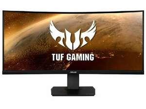 "Monitor gaming - Asus TUF Gaming VG35VQ, 35"", Curvo, LED UltraWide QuadHD, 1 ms, 100Hz, HDMI, Negro"