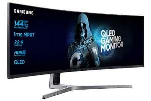 """Monitor Samsung curvo 49"""" QLED 144Hz solo 599€"""