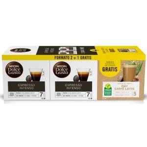 NESCAFÉ® Dolce Gusto® 2 Espresso Intenso + 1 Avena GRATIS