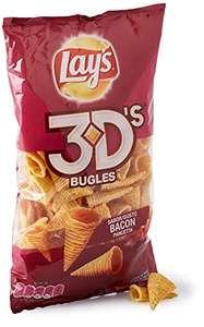 3x2: Lays 3D`S Bacón (3 bolsas por 2,70€) y más artículos en promoción.
