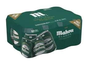 Cerveza Mahou Clásica Lata (2º unidad al 50% de descuento)