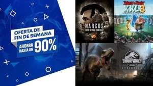 Ofertas de hasta un 90% Dto (PS4)