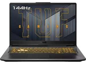 """Portátil gaming - Asus TUF A17 FA706QR-HX004, 17"""", AMD® Ryzen™ 7 5800H, 16GB RAM, 512GB SSD, RTX 3070, FreeDOS"""