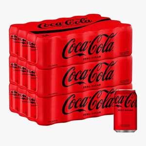24 latas CocaCola Zero