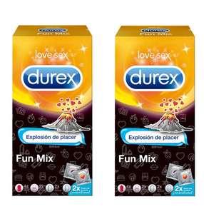 20 Preservativos Durex Fun Mix solo 3.6€