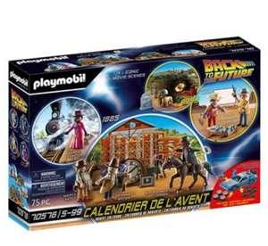 Calendario adviento playmobil Regreso al Futuro III