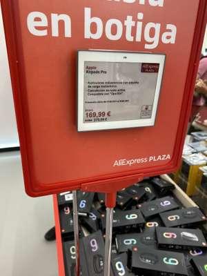 AirPods Pro a 170€ en la tienda de AliExpress Plaza