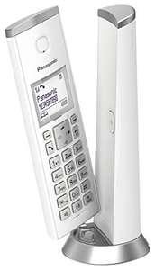 """Panasonic KX-TGK210 - Teléfono Fijo Inalámbrico, LCD 1.5"""", Identificador de Llamadas, Agenda de 50 Números, Bloqueo de Llamada, Modo ECO"""