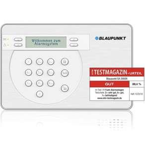 Blaupunkt SA2900R Sistema de Alarma para el hogar sin cuota mensual e inalámbrico con mando control remoto