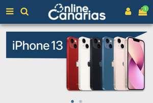 iPhone 13 de 256GB (Solo canarias)