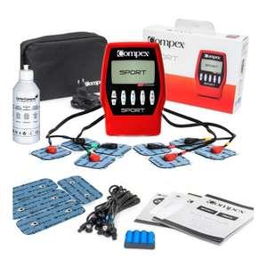 Compex Sport Édition Spéciale - Electroestimulador Red/black
