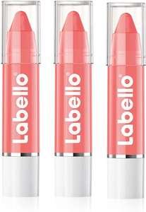 Labello Lips2Kiss Coral Crush - Juego de 3 bálsamo labial con color intenso, hidratante y color coral