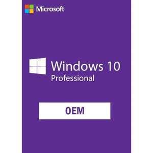 Microsoft Windows 10 PRO - Tipo OEM
