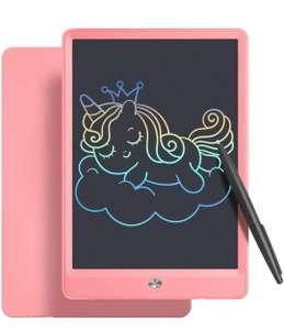 """Pizarra LCD de 10"""" con pantalla multicolor (rosa o azul)"""