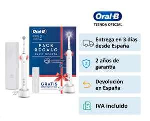 Cepillo Electrico Oral-B Pro 2 2500 (Desde España) (A partir del 30/09 a las 10.00)