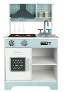 Cocina juguete Madera con luz y sonido WOOMAX 70x30x104 cm (Día 29/09)