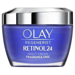 Olay Regenerist Retinol24, Crema Hidratante De Noche 50ML (Desde España) (A partir del 30/09 a las 10.00)