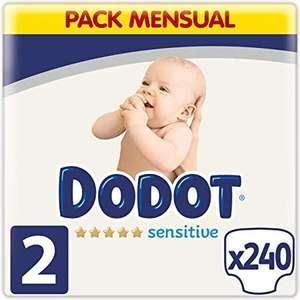 Chollo Pañales dodot sensitive talla 2 2packs 480unidades a 0,12€ unidad leer descripción