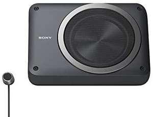 Sony XS-AW8 | Subwoofer Activo Compacto | Potencia de Salida máxima de 160 W