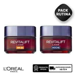 Pack L'Oréal Paris Revitalift Laser Crema de Noche y Día (El 29/09)