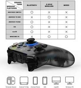 GameSir T4 Pro Controlador inalámbrico de Juegos Mando Bluetooth