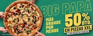 50% de descuento en Pizzas XXL de Papa John's