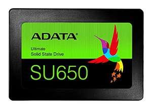 """ADATA SU650 Unidad de Estado sólido 2.5"""" 480 GB Serial ATA III SLC (520 MB/s, 6 Gbit/s)"""