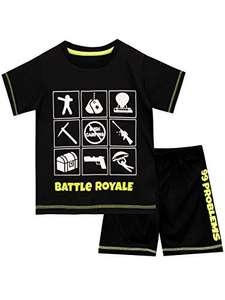 Battle Royale Pijamas de Manga Corta para niños. Varias Tallas