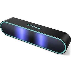 Altavoz Bluetooth Potente Portátil con luz LED