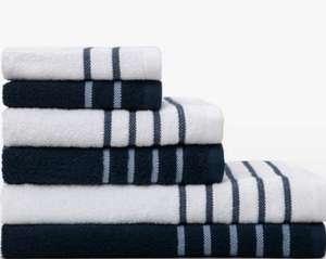 Juego de 6 toallas de baño algodón [+ En Descripción]