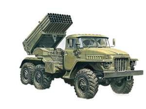 Maqueta de Vehículo Militar para Montar Escala 1:72