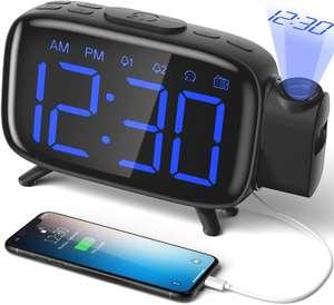 Despertador LCD con USB solo 11.9€