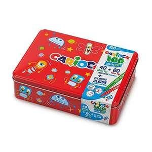 Carioca Box   Caja de Lata con 100 Rotuladores
