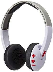 Auriculares de diadema con Bluetooth Skullcandy Uproar Wireless, BLANCO/ROJO