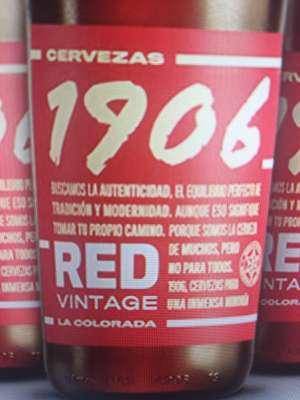 Cerveza 1906 Red Vintage 24x330 ml