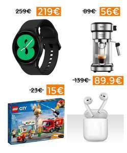 Cupones exclusivos para selección de marcas, Apple, Lego, Samsung, etc