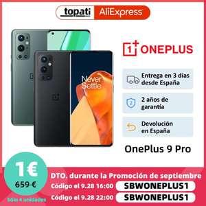 Oneplus 9 Pro 8GB 128GB (Desde España)