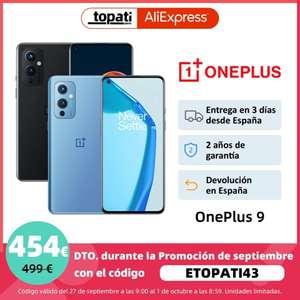 Oneplus 9 8GB 128GB (Desde España)