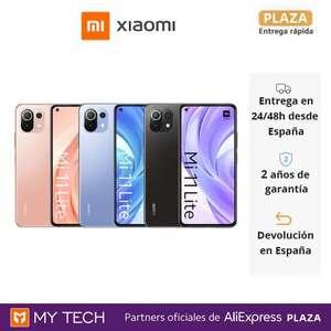 Xiaomi Mi 11 Lite 6GB 128GB (Desde España)