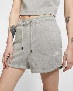 Pantalón Nike corto mujer. Tallas XS, S y L. Disponible también en morado (descripción)