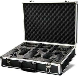 PreSonus DM-7: Conjunto completo de micrófono de tambor para grabación y sonido en vivo, XLR MIC