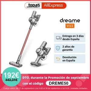 Aspiradora Dreame V11 - Aliexpress Plaza - Desde españa