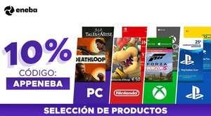 10% de descuento en Eneba (productos seleccionados)