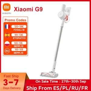 Xiaomi Aspiradora Mi G9 para hogar inteligente, inalámbrico de mano colector de polvo, 120AW