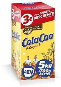 ColaCao Original: con Cacao Natural - Formato Ahorro - 5,7kg (compra recurrente)