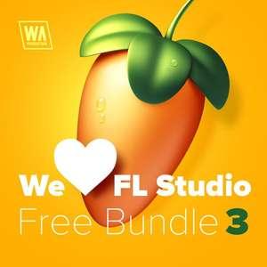 Pack 3 FL Studio WA - 4 Packs (samples, loops, presets y MIDI) + Plugins + Curso