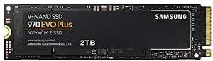 Samsung 970 EVO Plus MZ-V7S2T0BW   SSD NVMe M.2 interno, 2 TB, hasta 3500 MB / s de lectura secuencial