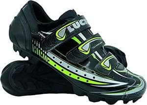 Zapatilla para ciclismo de montaña LUCK Master con suela de carbono y triple tira de velcro.